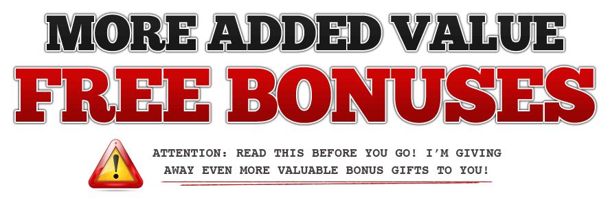 Bonuses Headline